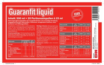 EDER Guaranfit liquid