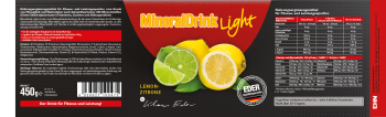 Mineraldrink light - Lemon-Zitrone