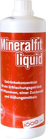 Mineralfit liquid - Schwarze Johannisbeere