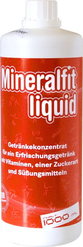 Mineralfit liquid - Waldmeister